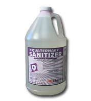 disinfectant quaternary sanitizer for commercial properties